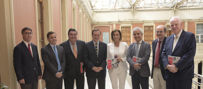 UC, CPC, Inacap y Duoc UC presentan propuestas para mejorar la educación técnica profesional a la Ministra Cubillos