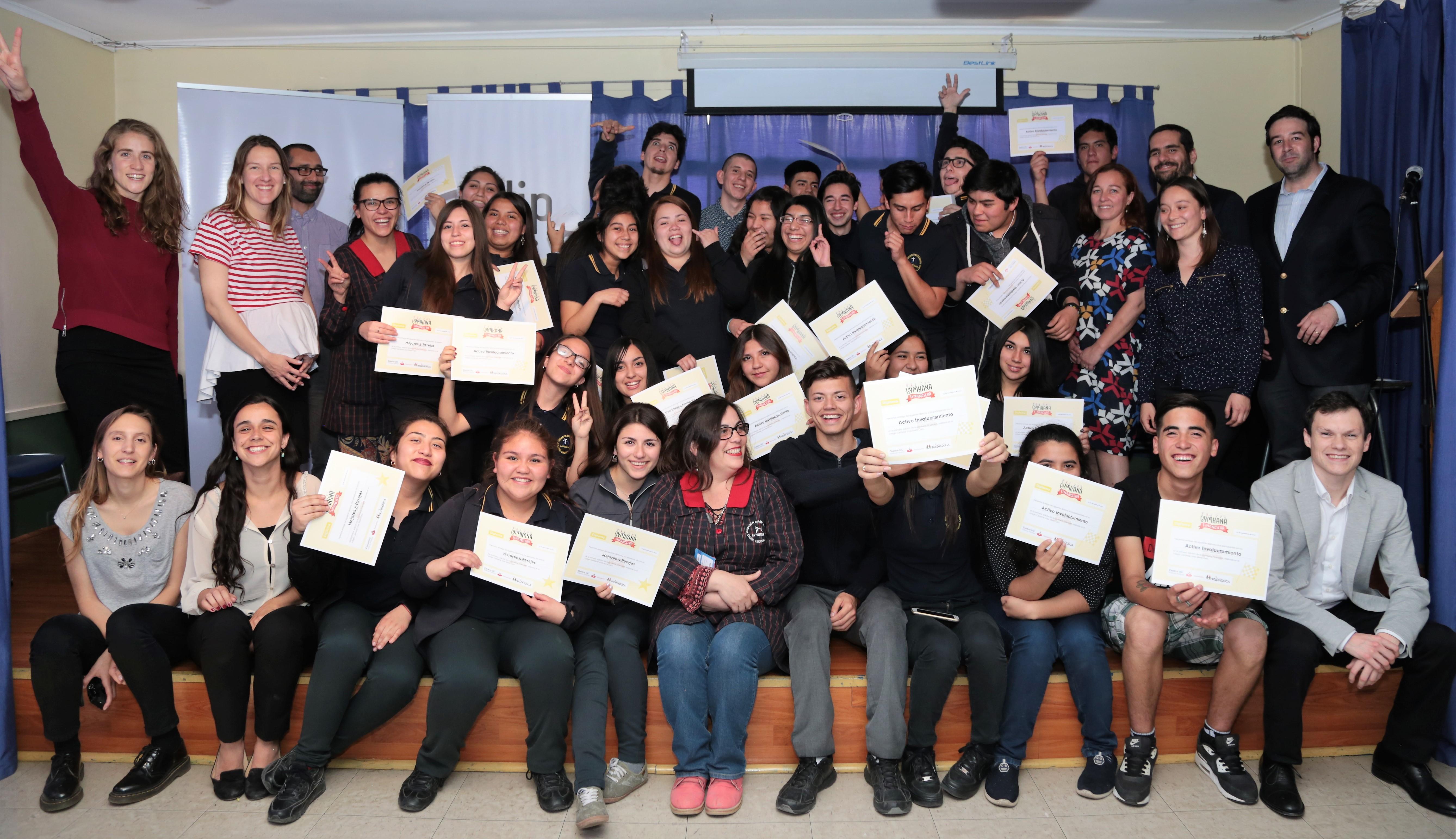 Gymkana Financiera se implementa con éxito en colegio de la Pintana