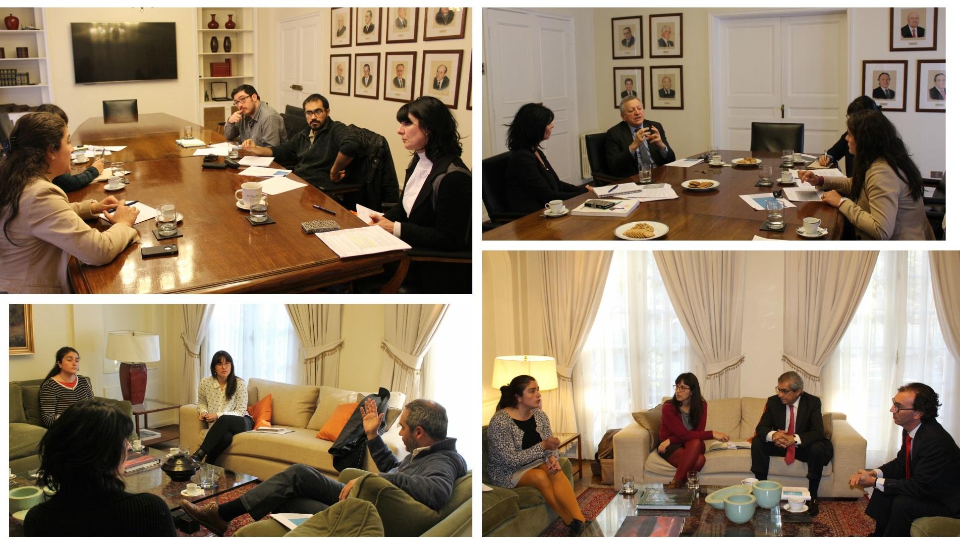 Representantes de alianza por la educación técnica se reúnen con candidaturas presidenciales